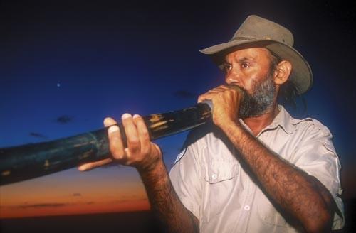 Graham Clarke, the Mungo National Park expert guide.