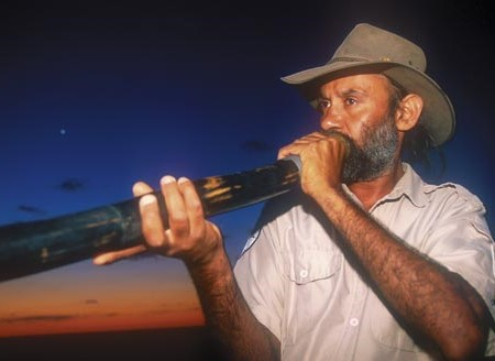 Graham Clarke, the Mungo National Park expert guide.