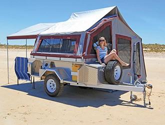 Wilmax Softfloor camper trailer