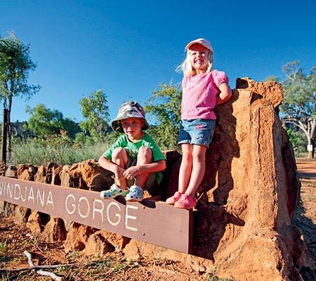 Windjana Gorge in the Kinberley WA