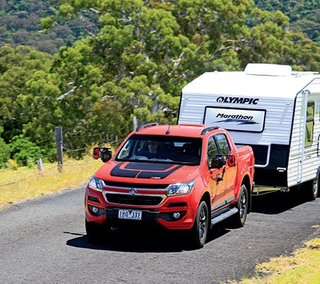 Holden Colorado Z71 Crew Cab Tow Test