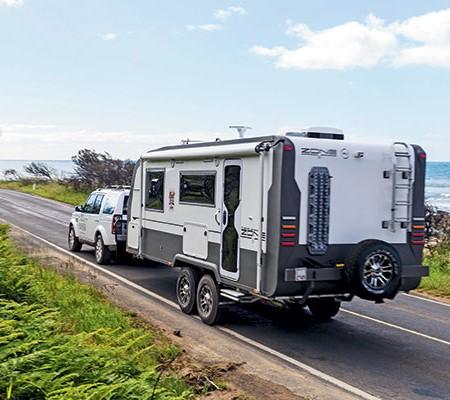 Zone RV caravan