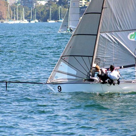 Terms & Conditions gave Sydney Sailmakers a run for their money in race two, only 16 seconds behind.