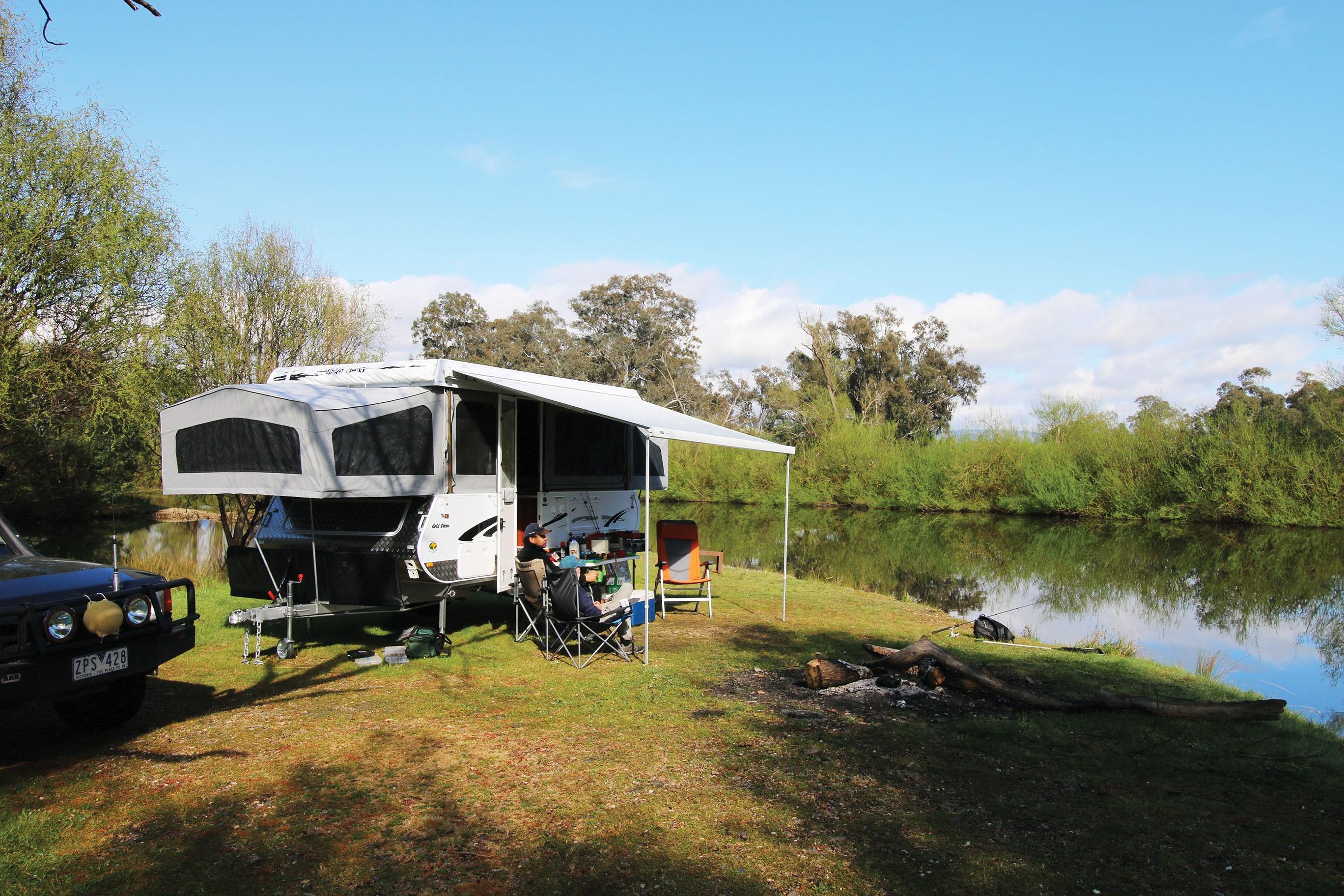Goldstream and Storm offroad campertrailer