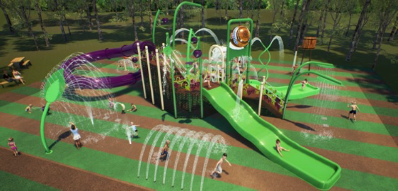 Discovery Parks' new family waterpark in the Barossa Valley.