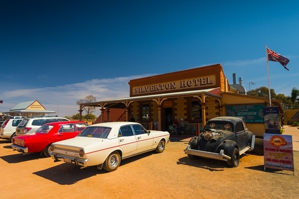 Silverton, in outback NSW, is a popular drawcard for travellers.