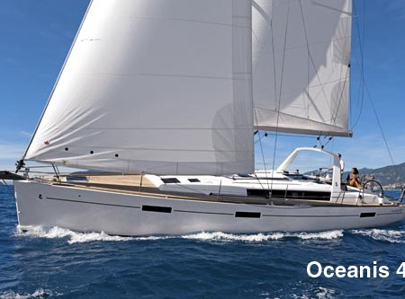 Beneteau Oceanis 41 & 45. Charters, offshore adventures or large family gatherings, take your pick.