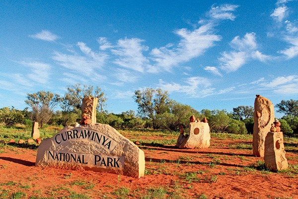 Currawinya National Park, Qld