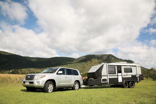 The On The Move Grenade: a caravan made for rough roads.