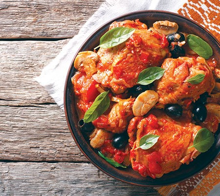 Camping recipes: Chicken Cacciatore