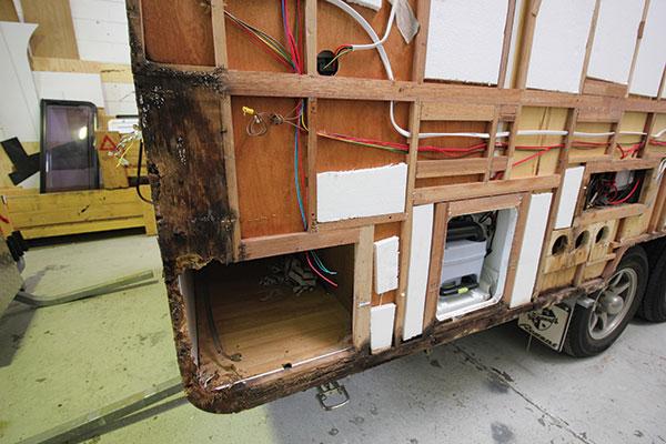 Common caravan maintenance problems