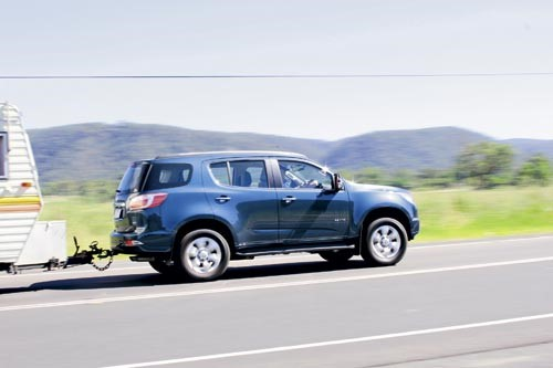 HOLDEN COLORADO 7 TOW VEHICLE REVIEW