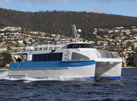COMMERCIAL NEWS — AMSA ferry for Cocos (Keeling) Islands