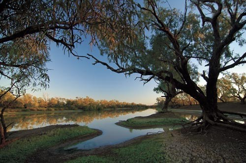 Broadwater Waterhole: for bare bones camping, this has to be one of the most stunning views you'll e