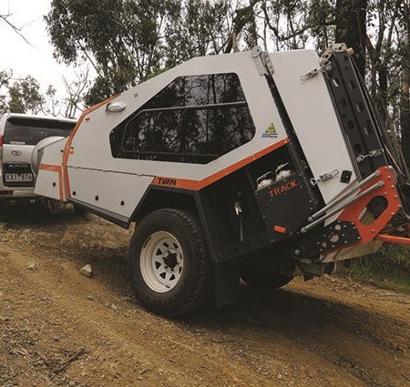 With the latest-spec Murranji, Track Trailer has re-purposed the Tvan yet again