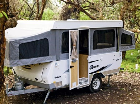 Don't underestimate the value of pop-top campers like the Quest RV Timbarra Spirit 5, says our teste