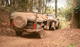 Test_Trackabout, Trackabout Safari  camper trailer video test