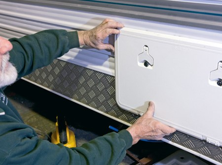 Tech: How to fit an external access door