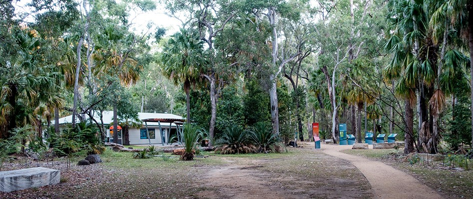 The new Carnarvon Gorge visitors' centre.