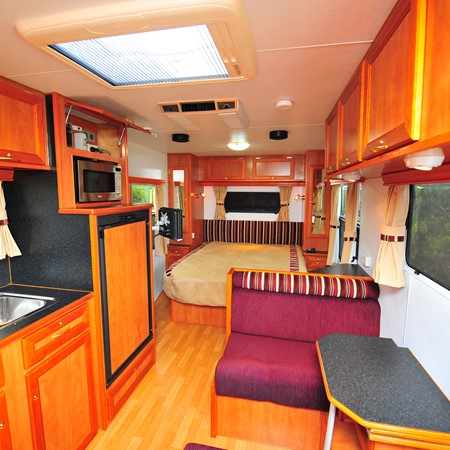 What's inside the Goldstream RV?