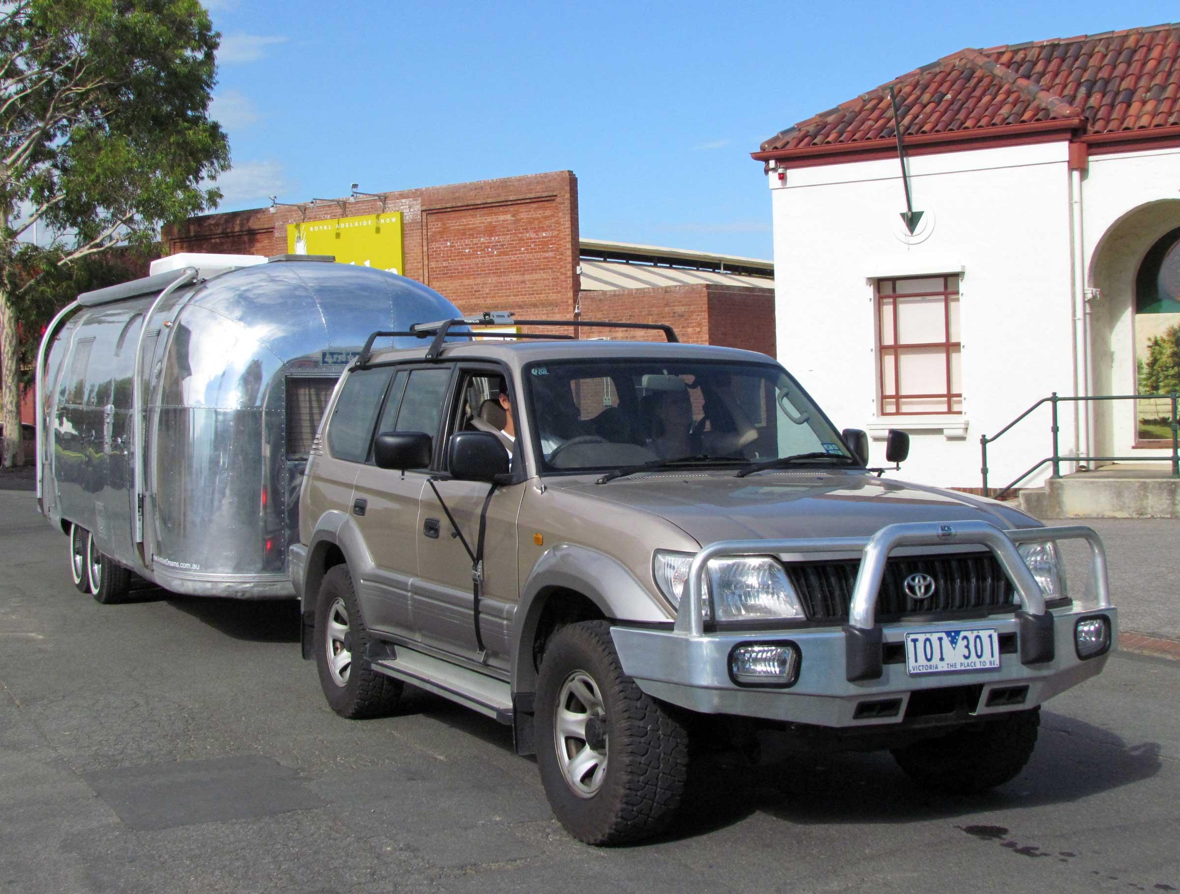 Airstream caravan south australia show