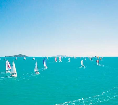 A record fleet of 135 racing yachts contested the windy Vision Surveys 25th Airlie Beach Race Week 2