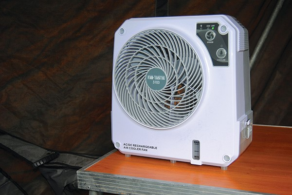 FAN-TASTIC iceO CUBE evaporative cooler