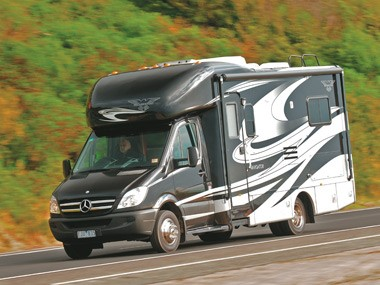 Presidential RV Navigator 24SAU is luxury defined.
