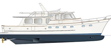 The new Fleming 58 Pilothouse Motor Yacht.