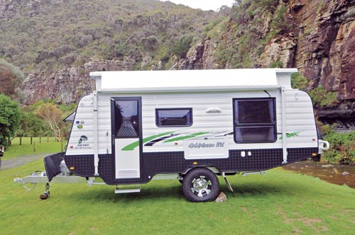 Goldstream Rv 16ft 6in Fkst Panther Caravan Review