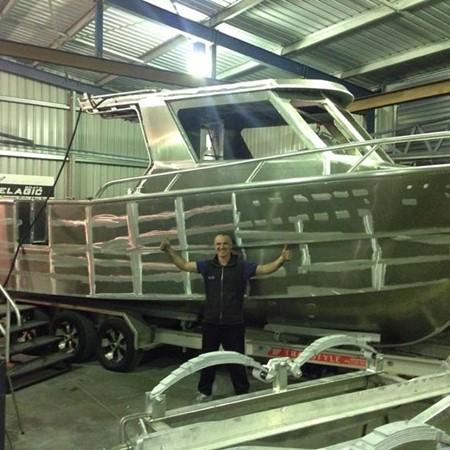 8.5m Pelagic commercial fishing boat