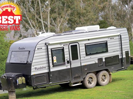 Roadstar Safari Tamer caravan