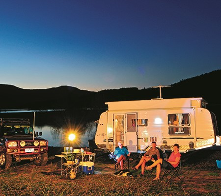 Generators come in a variety of power outputs but, for most RV camping situations, a generator rated