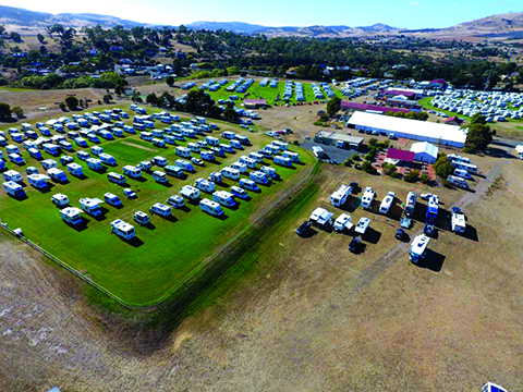 600 RVs gather for CMCA Pontville rally