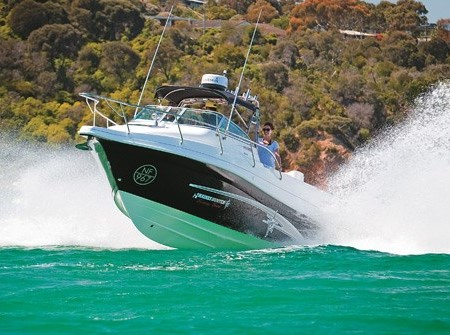 A monster Haines Hunter 760 R Ltd. Every option imaginable is on this boat and there's 500hp on the