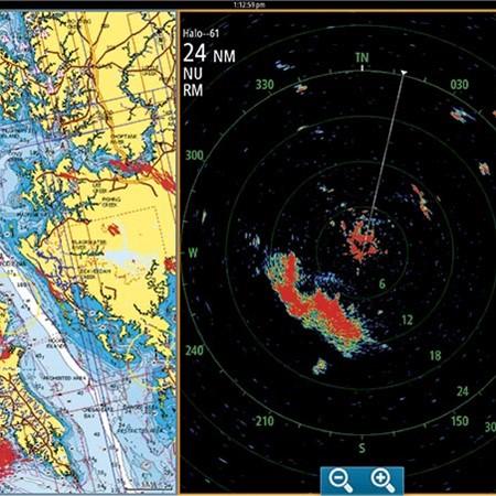 New marine electronics: Simrad HALO radar