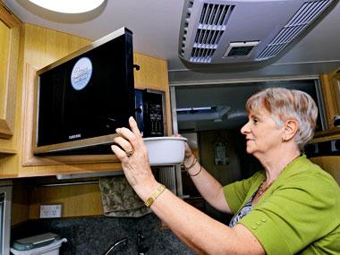 everner e900 series custom caravan microwave