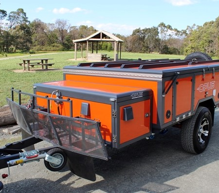 The new Opus Camper Mark II will be debuted at Leisurefest.