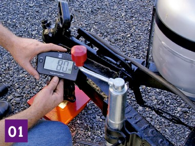 Setting up a heavy-duty weight distribution hitch