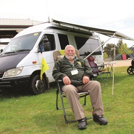 CW writer Lionel Mussell and his second Mercedes-Benz Sprinter motorhome conversion.