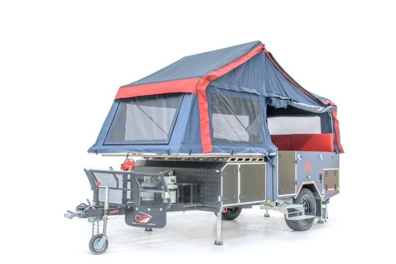 The new Cub Campers forward-fold Frontier.