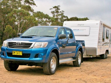 Tow test: Toyota HiLux SR 4X4 Double Cab