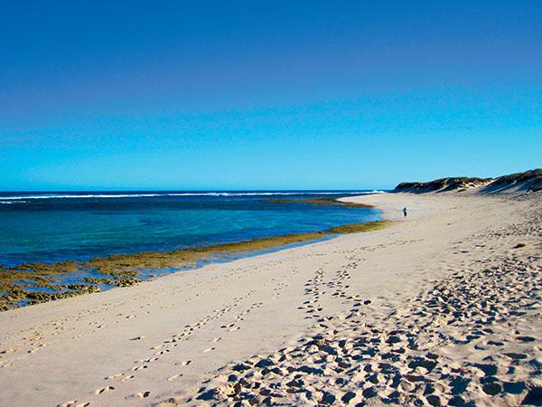 Quobba Coast3Mile camp lagoon 1