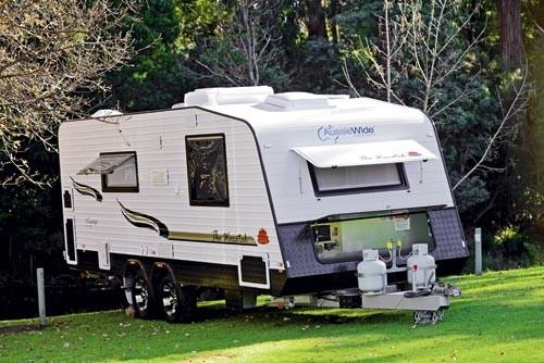 Aussie Wide Caravans.