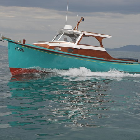 NEW BOATS — Yanmar-powered new timber classic
