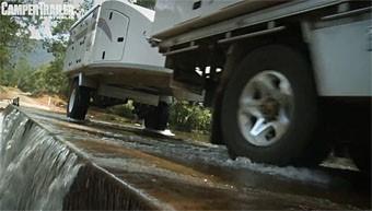 Travelander camper trailer video test