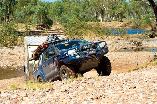 Offroad towing checklist