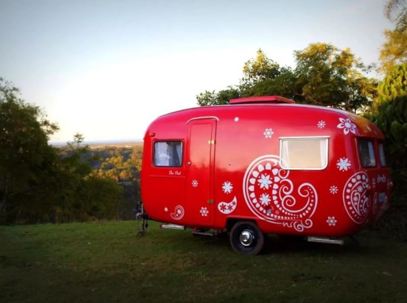 There are quirky vans for rent all over the country, if you know where to look!