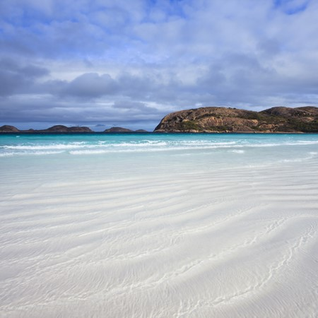 New campsites for Lucky Bay, WA.