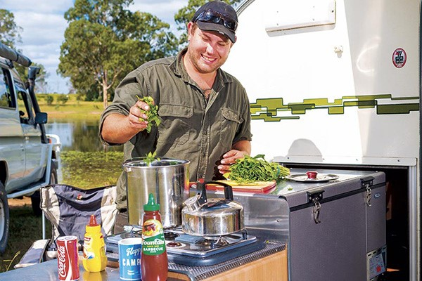 Camper Trailer Kitchens